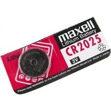 Maxell Lithium Battery - CR2025-3v - 1 Battery