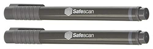 2 er Set Safescan Stift Prüfstift Geldprüfstift Schutz vor Falschgeld - Geld einfach und sicher auf Echtheit prüfen