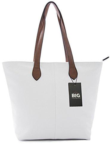 Gran Venta Visita Descuento Big Handbag Shop - Sacchetto donna (bianco) Se Ocupa De Venta En Línea LBR4i3T4