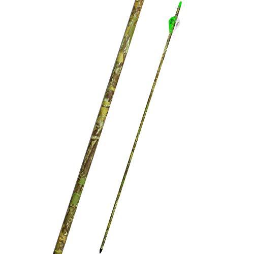 """100% Carbon Arrows 300 500 Wirbelsäule mit 2"""" Blazer Vane Press Fit Austauschbare Tipps für die gezielte Jagd"""