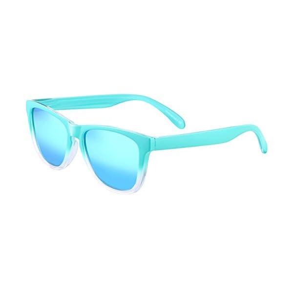 d138b81c65 Retro Gafas de Sol Polarizadas para Hombre y Mujer UV400 Protección ...