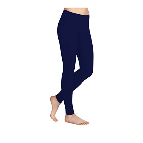 Missloved Plain Stretchy Viscose Lycra Leggings Sizes UK 8-26 * 30 Colours *