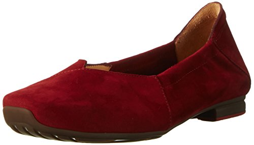 Think! Gaudi, Ballerines Femme Rouge (Rosso 70)