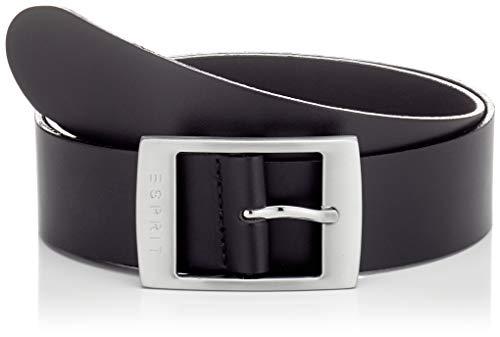 ESPRIT Accessoires Damen Gürtel 999EA1S807 Schwarz (Black 001), 6631 (Herstellergröße: 85)