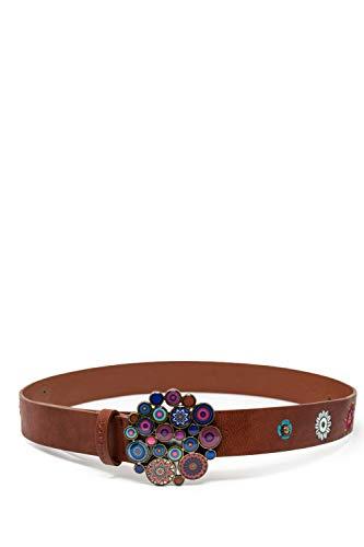 Desigual Cintura donna belt nanit 19warp18 85 cuoio
