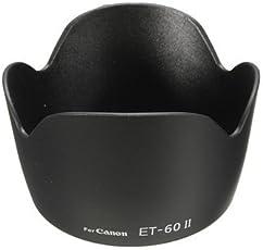 spe ET-60 II DEET6011S Lens Hood for Canon EF75-300MM F/EF-S 55-250MM F/4-5.6 IS