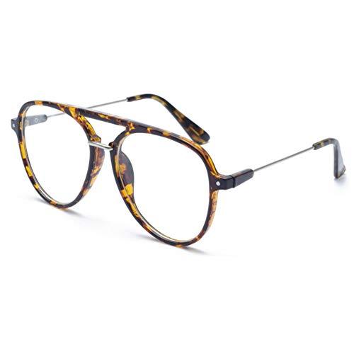 YLNJYJ Sonnenbrillen Farben Rot Pilot Sonnenbrille Männer Frauen Transparent Rahmen Promi Net Rote Marke Brille Designer Eyewear