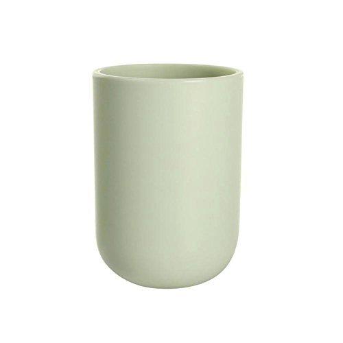 uviviu PP Becher Tasse, das Zähne putzen Cup für Badezimmer 350ml lichtgrün (Für Halloween Zahnbürsten)