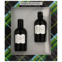 Geoffrey Beene Grey Flannel Eau de Toilette Spray 120ml and Aftershave Lotion 120ml