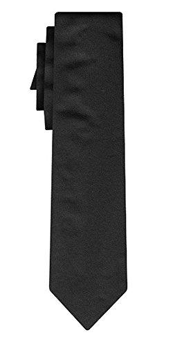 BOSS Seidenkrawatte solid black