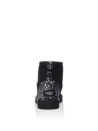 Tronchetto UGG Classic Mini Liberty in camoscio nero Black