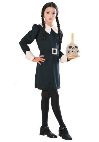 Kostüm Wednesday Addams Familie (Mädchen Addams Kostüm Family)