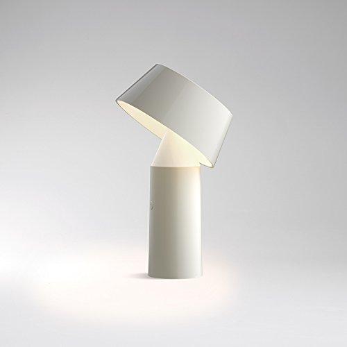 """Marset–lámpara de mesa LED inalámbrica """"bicoca (color blanco)"""