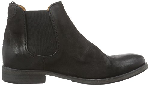 Mentor Mentor Chelsea Boot, Bottines À Jambe Courte Mod. Chelsea, Rembourrage Léger Femme Black (black (black Leather))