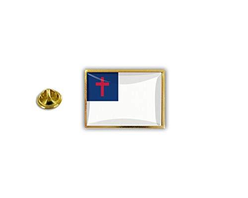 akachafactory pin flaggenpin flaggen Button pins Anstecknadel sammler Christian