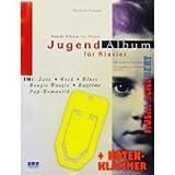Jugendalbum in Jazz,Rock,Blues, Boogie Woogie,Ragtime und Pop-Romantik für Klavier mit praktischer Notenklammer von Man