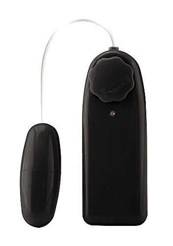 Shots Toys Liebes Vibrations Ei - 55 mm Länge - 25 mm Durchmesser - schwarz, 1er Pack