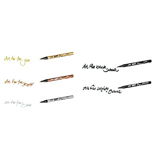 Handlettering Stifte Set 5-teilig, Scrapbooking Stifte, Art Pen