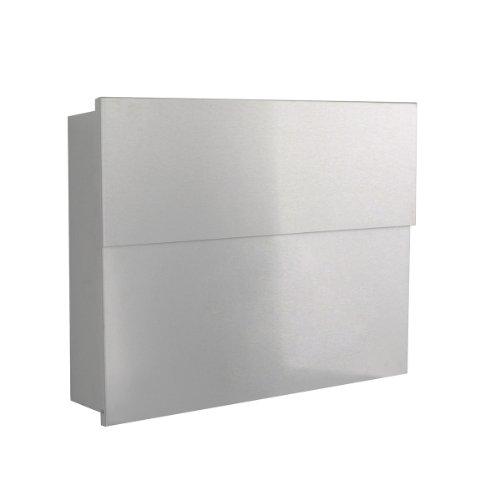 briefkasten letterman XXL 2 silber silber