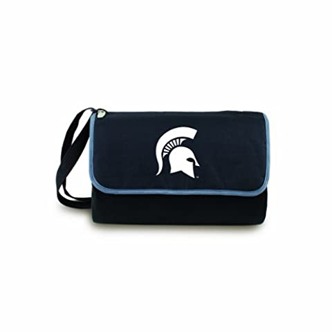 NCAA Michigan State Spartans Outdoor Picnic Blanket Tote,