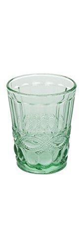 6er Set Wasserglas SOLANGE, grün, 265 ml., mundgeblasen von TOGNANA