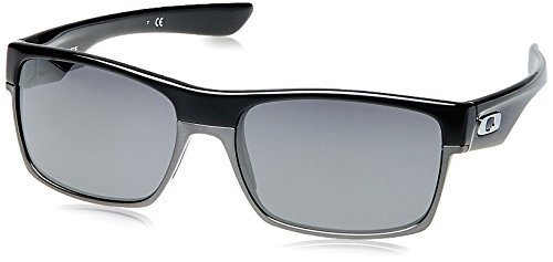 Oakley Herren 0Oo Twoface 918902 60 Sonnenbrille, Schwarz Black Iridium