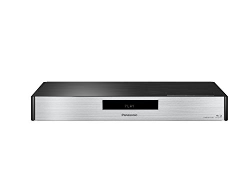 Panasonic DMP-BDT570EG 3D Blu-ray Player (4K Upscaling, WLAN, VOD, DLNA, Miracast, VoD, 2x HDMI, 7.1 Analog-Ausgang, USB) silber