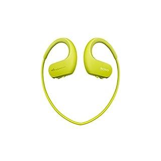 Sony Walkman NW-WS413 - Lecteur MP3 Intégré à des Ecouteurs - Etanche - 4 Go - Citron vert