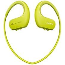 Sony Walkman NWWS413 - Reproductor MP3 deportivo (4 GB, resistente al agua salada y altas temperaturas), color verde