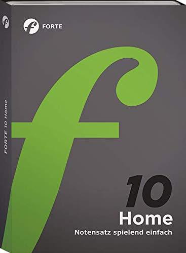 Forte 10 Home - Notenschreibprogramm für Musiker