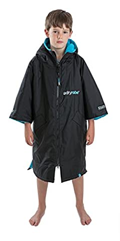 Dryrobe Advance Kids Changing Robe - Short Sleeve Change Poncho
