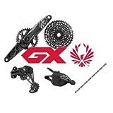 SRAM - Conjunto GX Eagle, 12 velocidades, biela de 170mm, 10-50 piñones