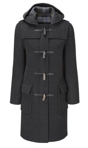 Original Montgomery Duffle Coat Pour Femme Charbon 52