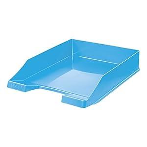 Han – Vaschetta porta corrispondenza KLASSIK impilabile, stabile, confezione da 6, Trend Colour blu chiaro
