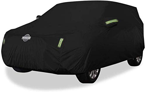 VOFJCY Autoabdeckung Nissan Qashqai Car Cover SUV Thick Oxford Tuch Sonnenschutz Regenschutz Warm Abdeckung Car Cover (Color : Oxford Cloth - Built-in lint)