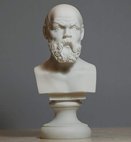 Desconocido Griega filósofo Sócrates Pecho alabastro