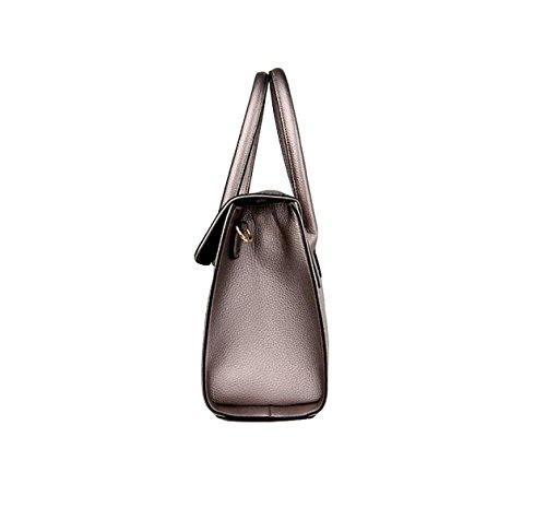 Handtasche Kuriertasche Schultertasche Casual Mode Atmosphäre Elegante Mittelalterliche Mutter Tasche Handtaschen Blue