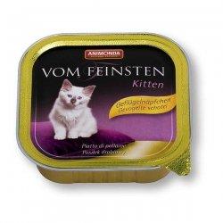 Animonda vom Feinsten Kitten Geflügel 100 g , Futter, Tierfutter, Nassfutter für Katzen