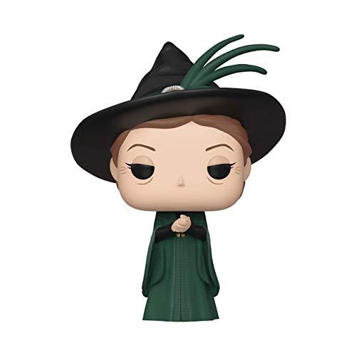 Funko- Pop Figura De Vinil Harry Potter-Minerva McGonagall (Yule) Coleccionable, Multicolor (42830)