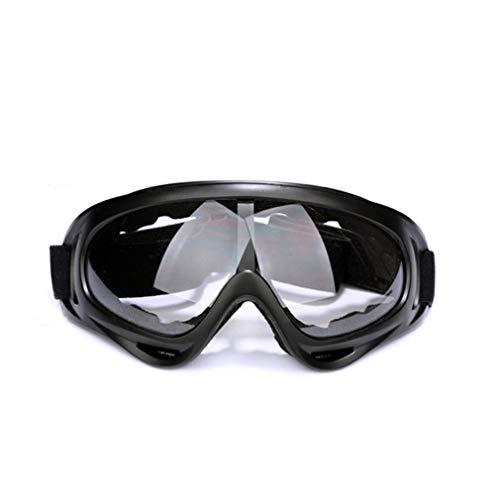 MMSY X400 Brille Motorradbrille Offroad Brille Windschutz (Color : Transparent)
