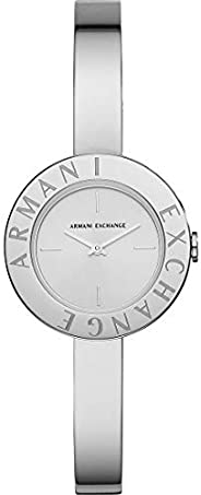 Armani Exchange Giulia Women's Silver Dial Stainless Steel Analog Watch - AX