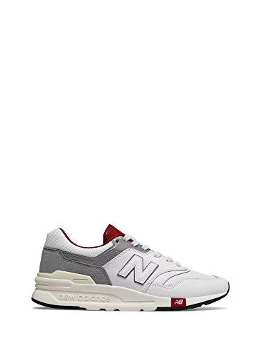 New Balance Herren Sneakers cm 997 weiß 43 (Balance Schuhe Und Weiß-new Grau)