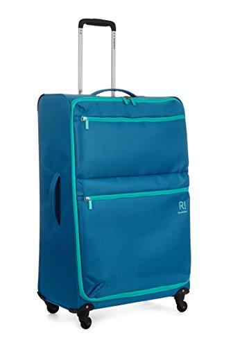31u9Nf%2BPoOL - Maleta Revelation Weightless D4, juego de 3, 4 ruedas giratorias, 77 cm - 88 L, azul
