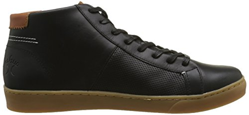 Faguo Aspen, Baskets Hautes Homme Noir (F1630 Black)