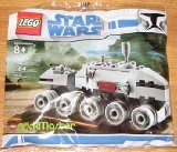 Lego Star Wars Brickmaster 20006 Mini Clone Turbo Tank / Juggernaut -