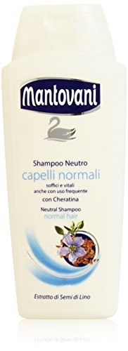 Mantovani - Shampoo Neutro, Capelli Normali , 400 ml