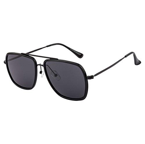 Farenheit Square Sunglasses|FA-8137-Black|