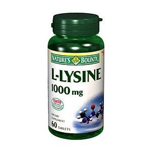 Nature's Bounty *** Natures L-Lysine 1000Mg 6011 60Tb By