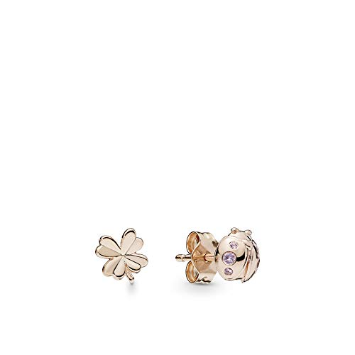 1414bbfe3e4e 10 - Pandora Pendientes de botón Mujer vermeil - 287960NPO · Comprar en  Amazon