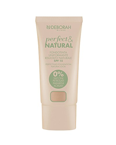 Deborah Milano 5613 Fondotinta, Perfect e Natural 03, Beige